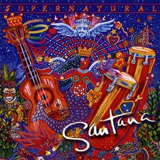 Supernatural (Santana album) - Image: Santana Supernatural CD album cover