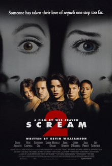 Image result for scream 2 poster