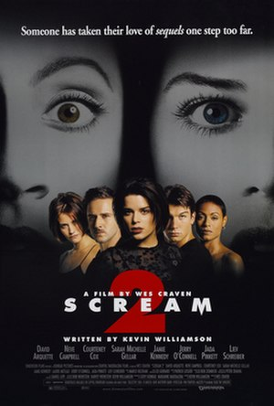 Scream 2 - Theatrical release poster