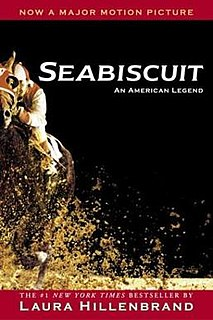 <i>Seabiscuit: An American Legend</i> book by Laura Hillenbrand