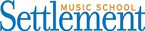Settlement Music School - Image: Settlement Music School logo