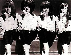 The Shangri-Las circa 1965. Left to right: Betty Weiss, Mary Ann Ganser, Marge Ganser, Mary Weiss