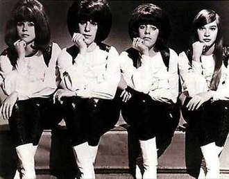 The Shangri-Las - The Shangri-Las circa 1965. Left to right: Betty Weiss, Mary Ann Ganser, Marge Ganser, Mary Weiss