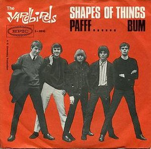 Shapes of Things - Image: Shapes of Things Yardbirds German 2