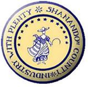 Shenandoah County, Virginia - Image: Shenandoah Seal