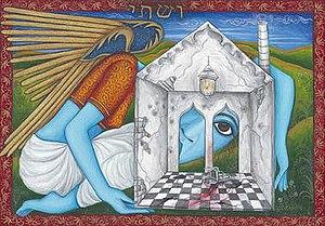 Siona Benjamin - Image: Siona Benjamin Work Example