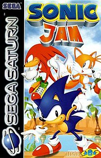 <i>Sonic Jam</i> 1997 video game compilation