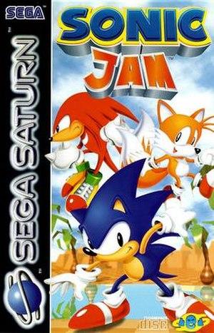 Sonic Jam - European cover art