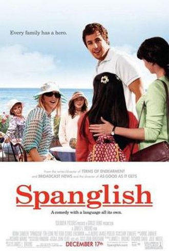 Spanglish (film) - Theatrical release poster