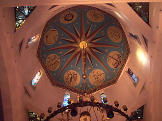 St. Vartan Armenian Cathedral - Interior of the dome