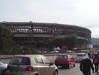 S.S.C. Napoli - Napoli moved to the new Stadio San Paolo in 1959, where they have played since.