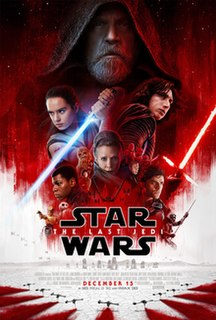 <i>Star Wars: The Last Jedi</i> 2017 American epic space opera film in the Star Wars series