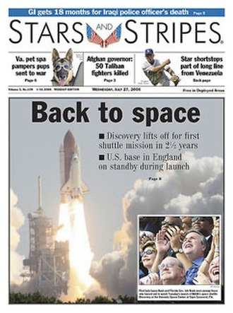 Stars and Stripes (newspaper) - Image: Stars and Stripes front page