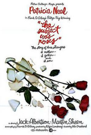 The Subject Was Roses (film) - Original poster