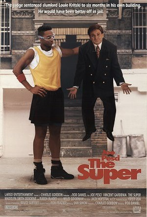 The Super - Theatrical release poster