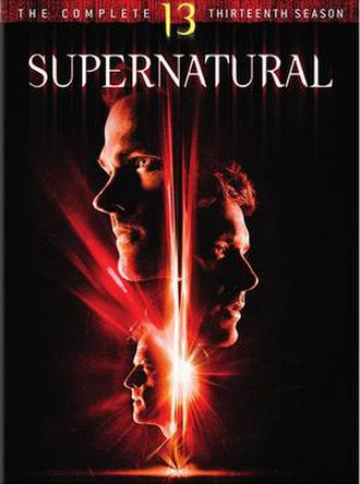Supernatural (season 13) - DVD cover art