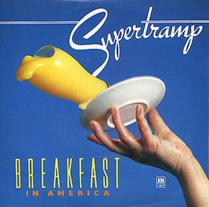 Breakfast in America (song) - Image: Supertramp Breakfast In America Single Cover