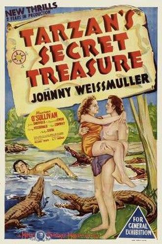 Tarzan's Secret Treasure - theatrical poster