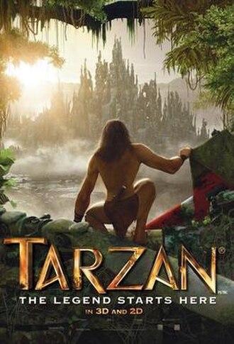 Tarzan (2013 film) - Theatrical release poster