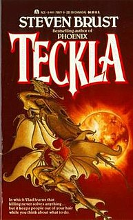 <i>Teckla</i> 1987 novel in the Vlad Taltos series by Steven Brust