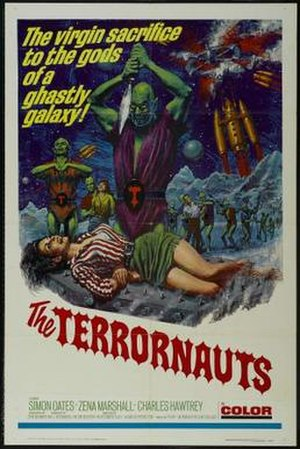 The Terrornauts - Film poster for The Terrornauts