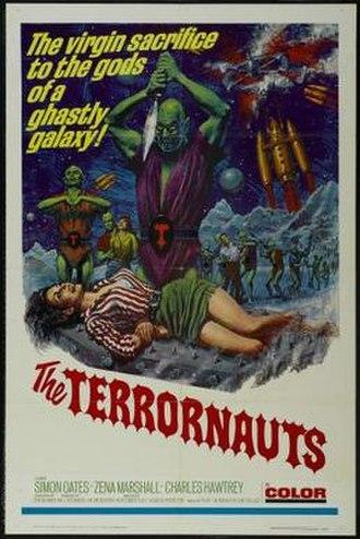 The Terrornauts - Theatrical release poster