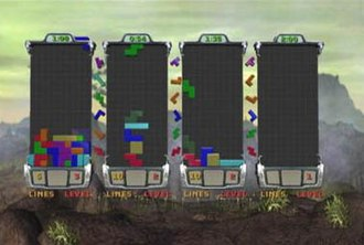 Tetris Worlds - A four-player game of Tetris Worlds.