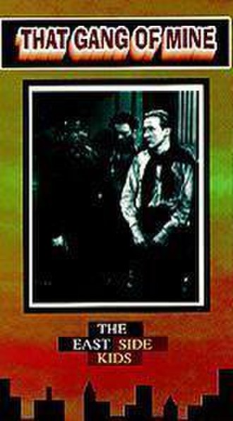 That Gang of Mine - VHS cover