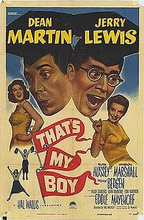 <i>Thats My Boy</i> (1951 film) 1951 film by Hal Walker