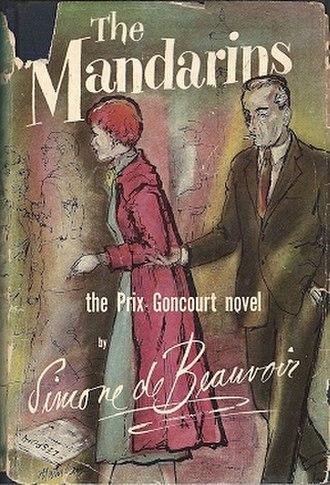 The Mandarins - First English-language edition (publ. World Publishing Company) Cover art by Laszlo Matulay