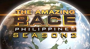 The Amazing Race Philippines - The current logo of The Amazing Race Philippines since the 2nd season