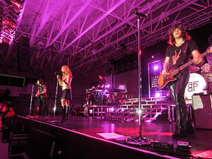 Merrimack College - The Band Perry performing at Merrimack College's 2013 Spring Concert.