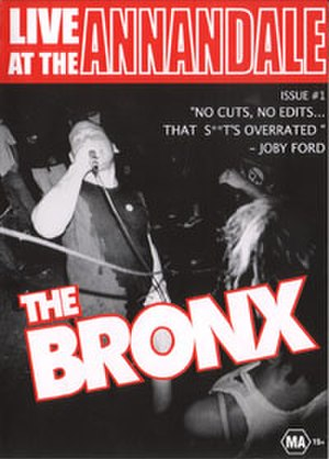 Live at the Annandale - Image: The Bronx Live at the Annandale cover