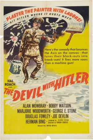 The Devil with Hitler - Theatrical release poster