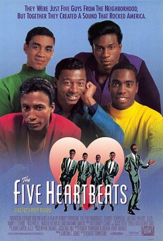 The Five Heartbeats - Theatrical release poster