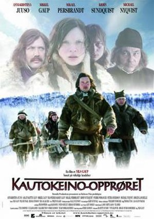The Kautokeino Rebellion - Norwegian theatrical release poster