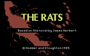 The Rats (video game) - Commodore 64 Title screen