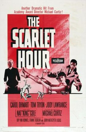 The Scarlet Hour - Theatrical release poster