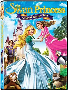 The Swan Princess A Royal Family Tale DVD cover.jpg