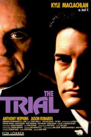 The Trial (1993 film) - DVD cover