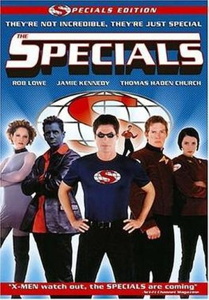 The Specials (film) - DVD cover