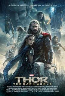 <i>Thor: The Dark World</i> 2013 superhero film produced by Marvel Studios
