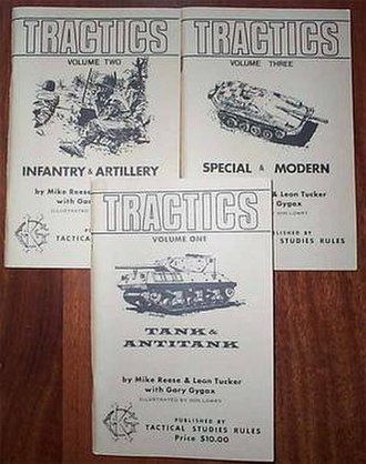 Tractics - 1975 TSR edition