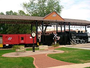 Antigo, Wisconsin - Image: Trainpark
