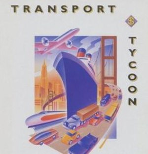 Transport Tycoon - DOS cover art