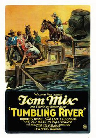 Tumbling River - Theatrical release poster