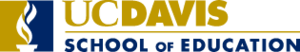 UC Davis School of Education - Image: UC Davis Education logo