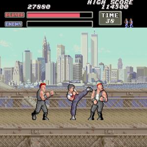 Vigilante (video game) - Screenshot of Vigilante (arcade version).