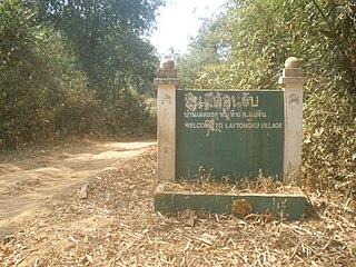 Laytongku Village in Thailand