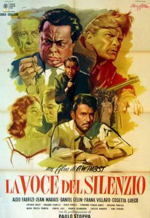 Voice of Silence (1953 film) - Film poster